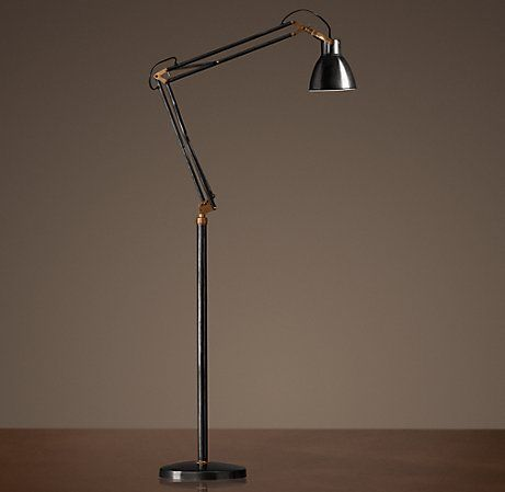 Exceptional Adjustable Studio Task Floor Lamp