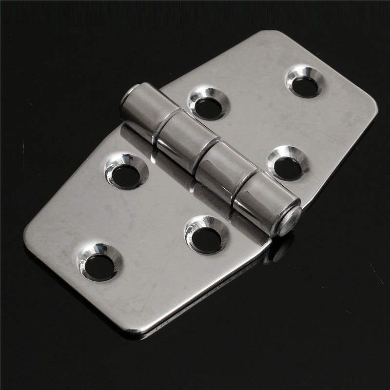 Mtgather 3 Inch Stainless Steel Boat Marine Flush Door Hatch Compartment Hinges Silver Replacment Door Hardware New Arrival Flush Doors Steel Stainless Steel