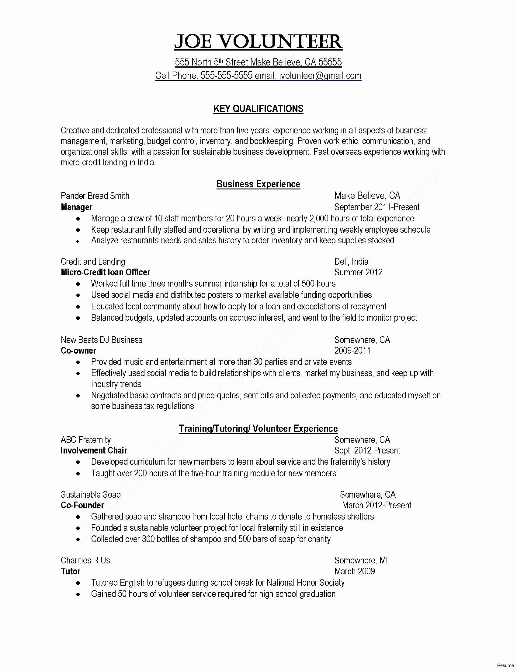 Free Resume Templates For Over 50