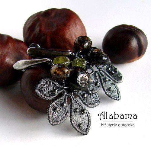 Falling... Biżuteria Kolczyki Alabama