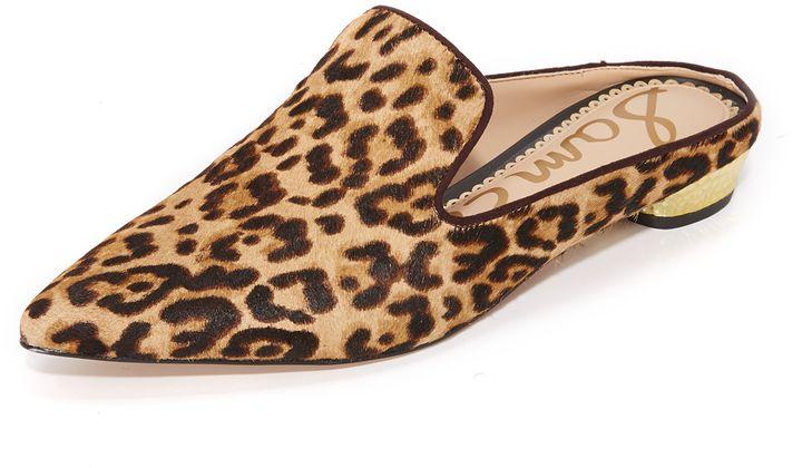 5060623d5c Sam Edelman Augustine Mules, leopard print mules, animal print flats ...