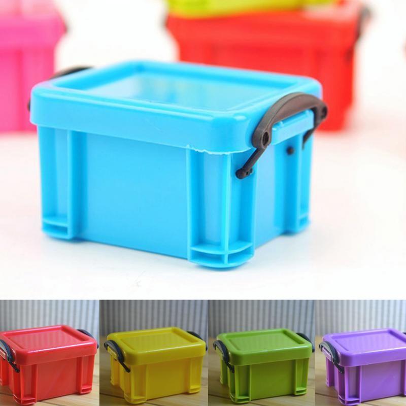 mini home storage box desk organizer plastic office desk storage rh pinterest ca