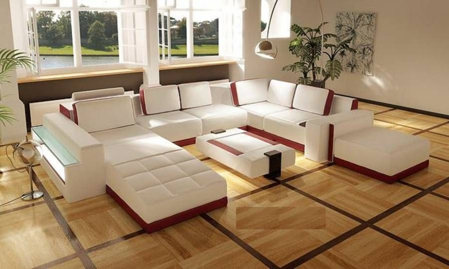Contemporary leather Living Room Furniture Dimensions See