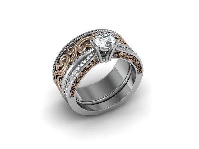 custom made engagement rings heirloom 34 - Custom Wedding Ring