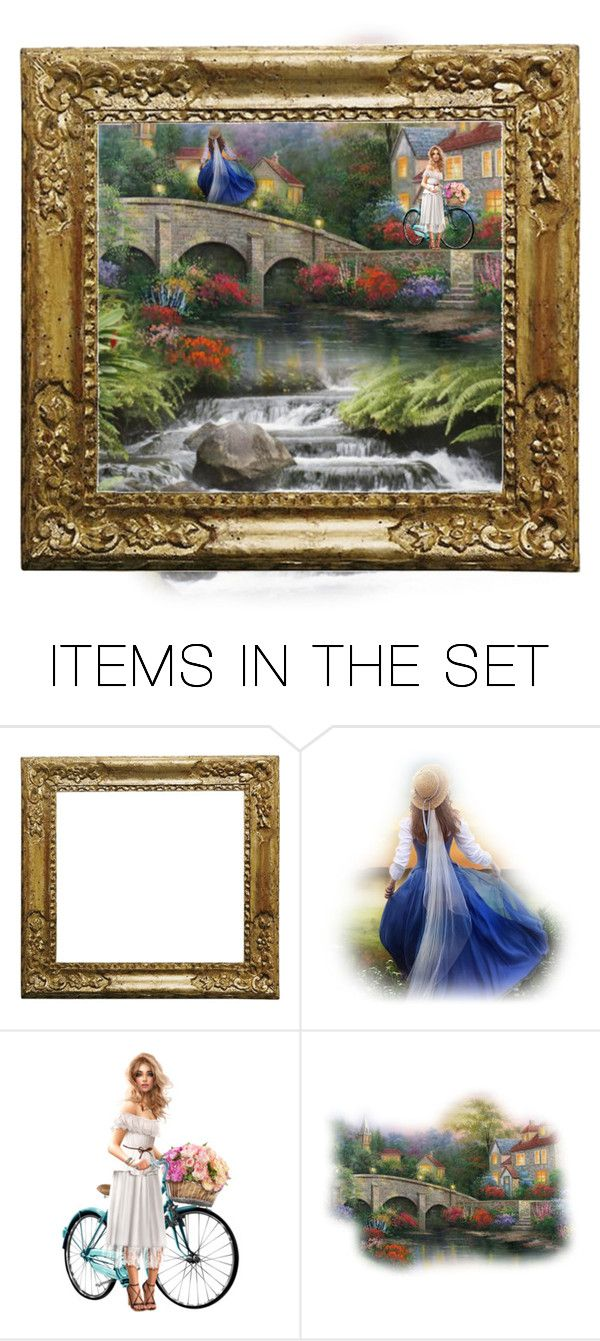 """spring time"" by kim-coffey-harlow ❤ liked on Polyvore featuring art"