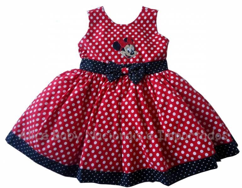 Vestidos De Minnie Mouse Imagui Vestidos Infantis