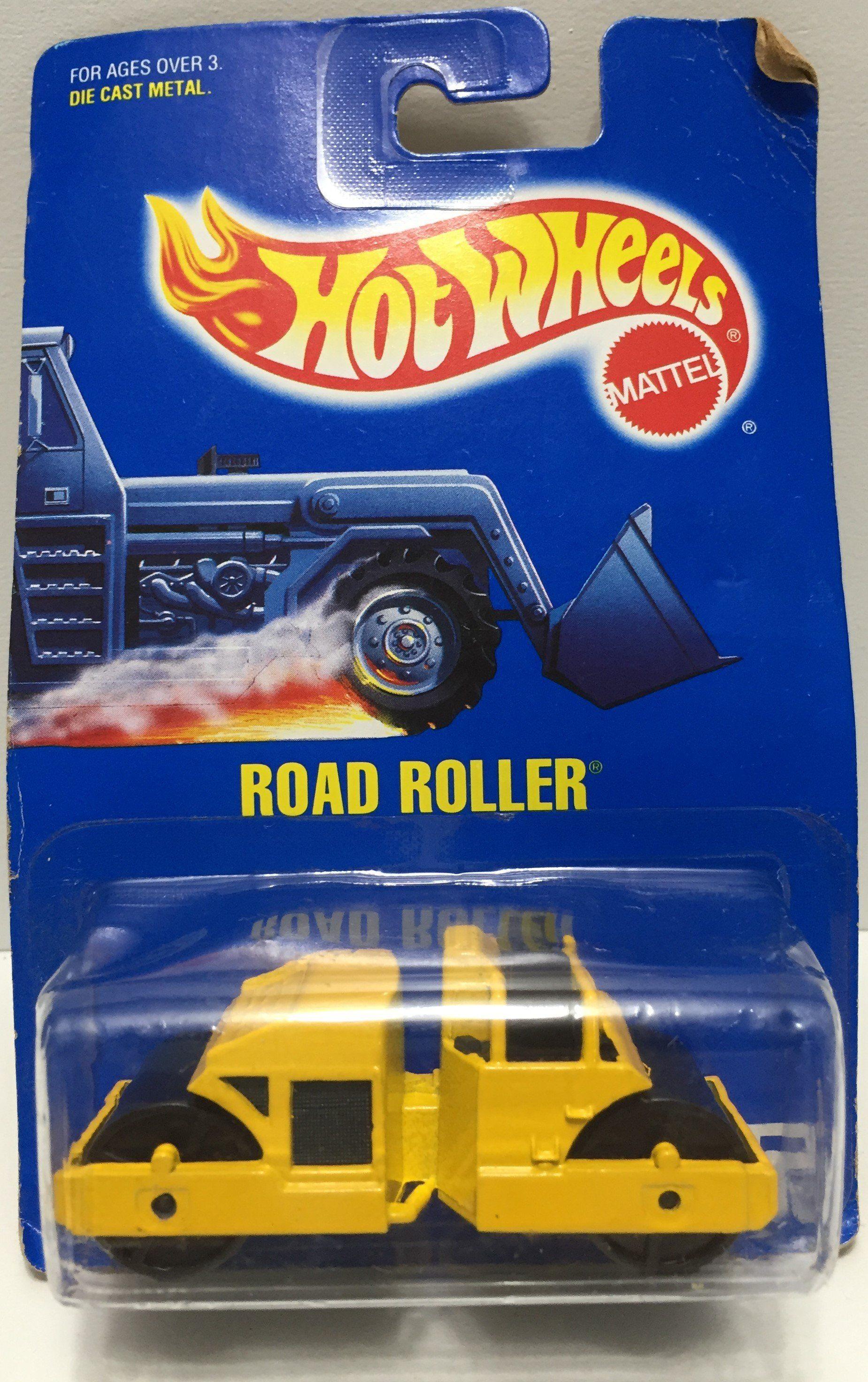 Tas037280 1991 Mattel Hot Wheels Die Cast Road Roller Mattel Hot Wheels Hot Wheels Garage Hot Wheels [ 2944 x 1849 Pixel ]