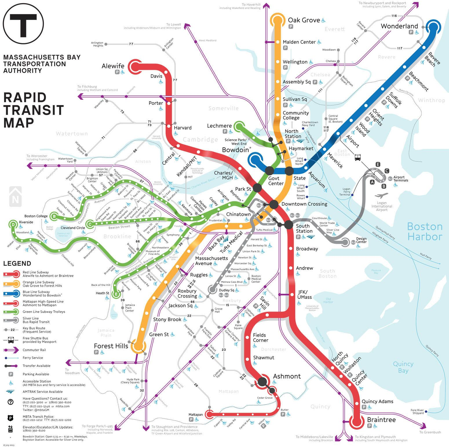 map of boston mbta The Mbta Map Competition Finals Transit Map Map Subway Map map of boston mbta