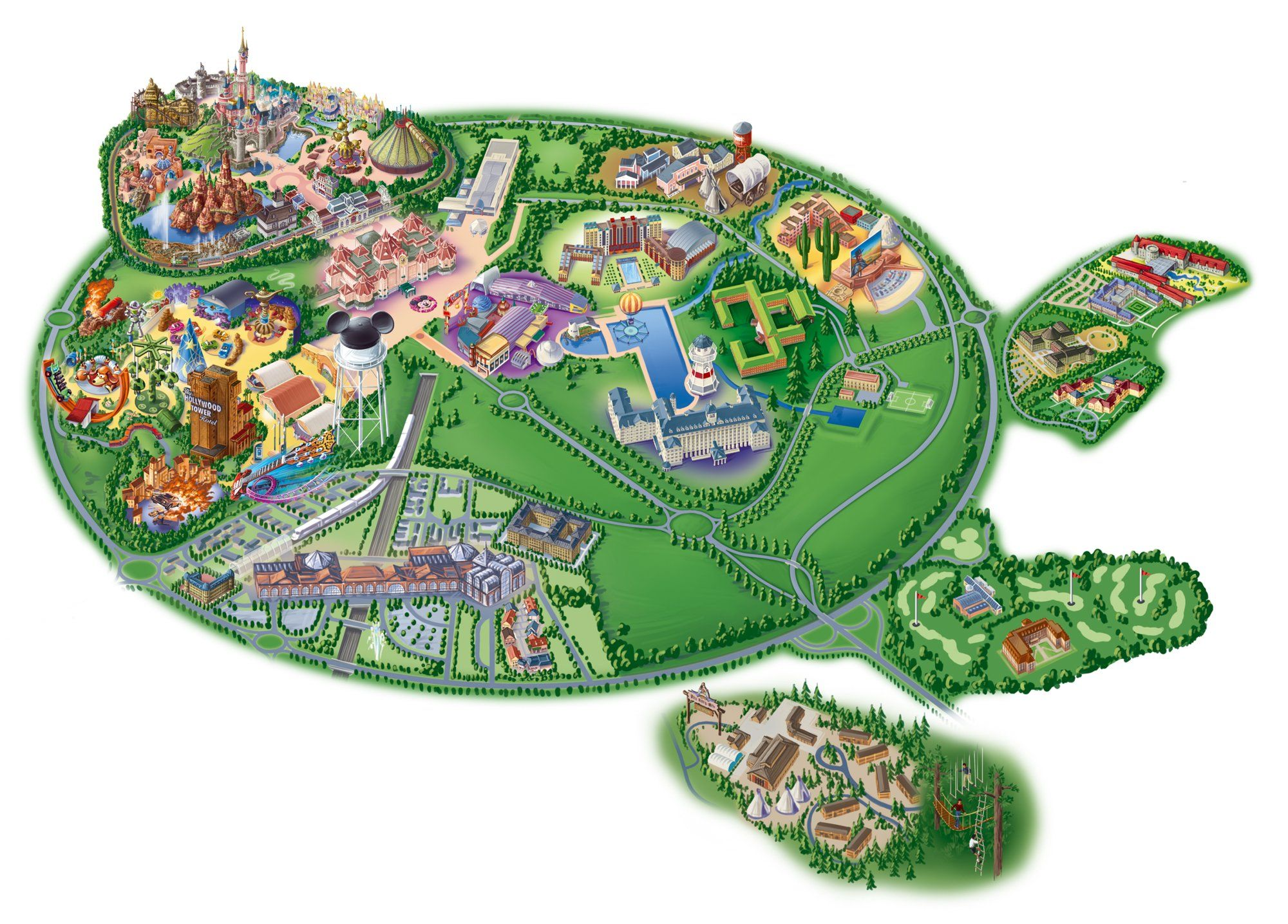 Map Of Paris And Attractions%0A Printable  u     PDF maps of the Disneyland Resort with detailed map of  Disneyland Paris  u     Walt Disney Studios attractions  u     lands