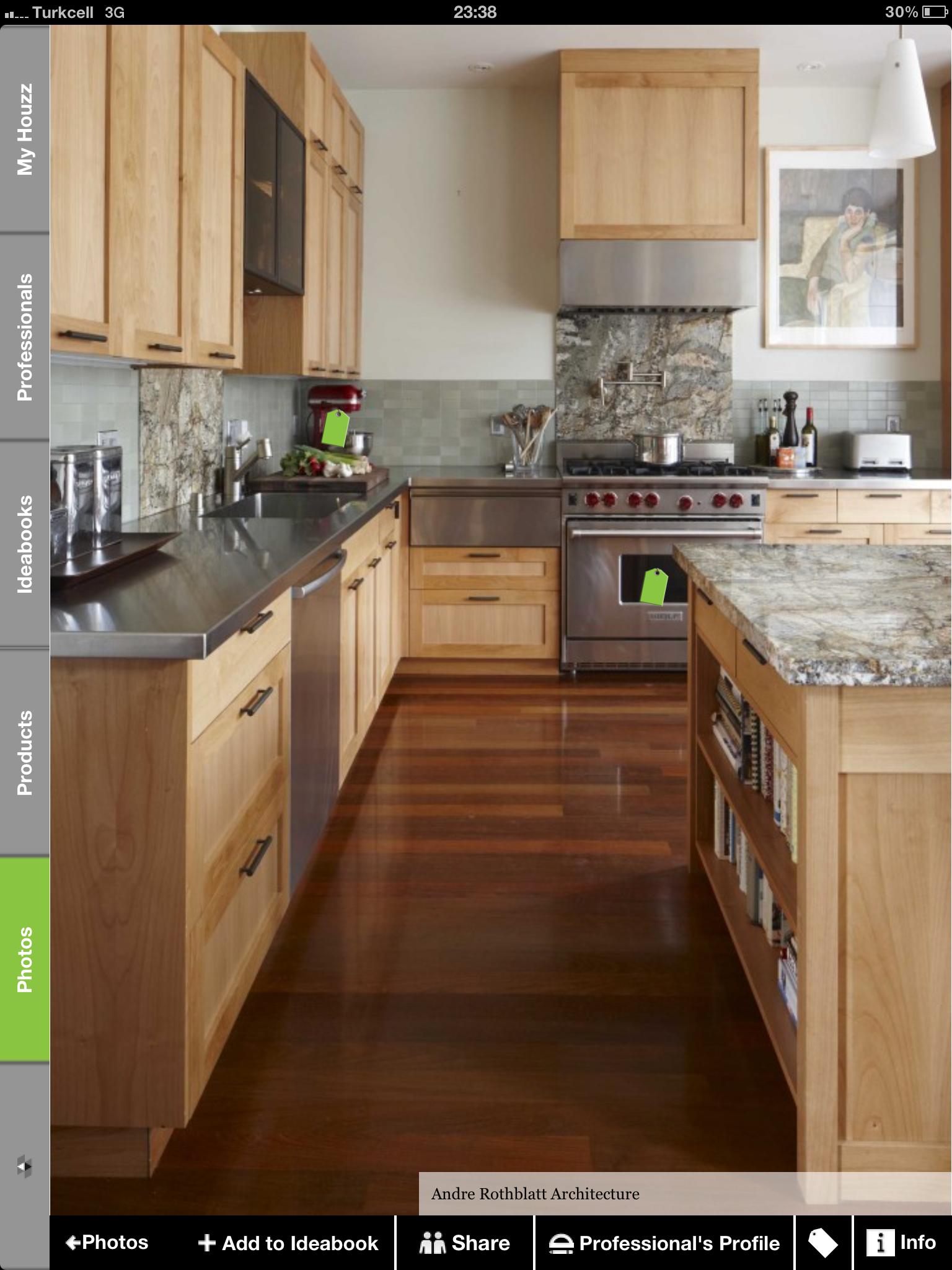 elik inox ah ap dolap masif zemin cabinets maple kitchen rh pinterest ch