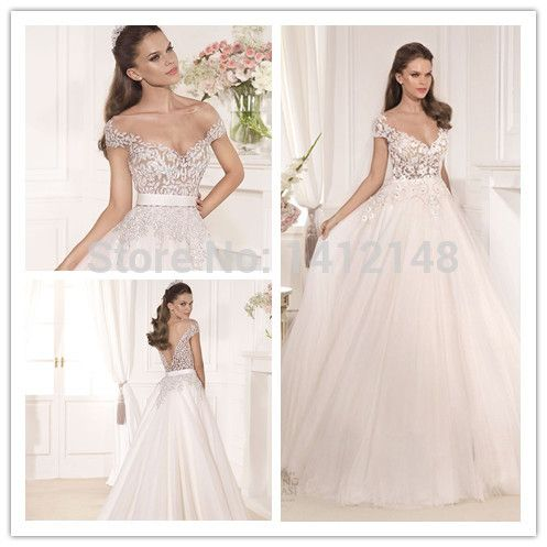 Cheap dresses rhinestones, Buy Quality dress wedding gown directly from China wedding dresses at discount prices Suppliers: