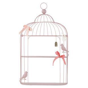 Etag re murale cage poetik 35 maisons du monde 10 - Maison du monde cage oiseau ...