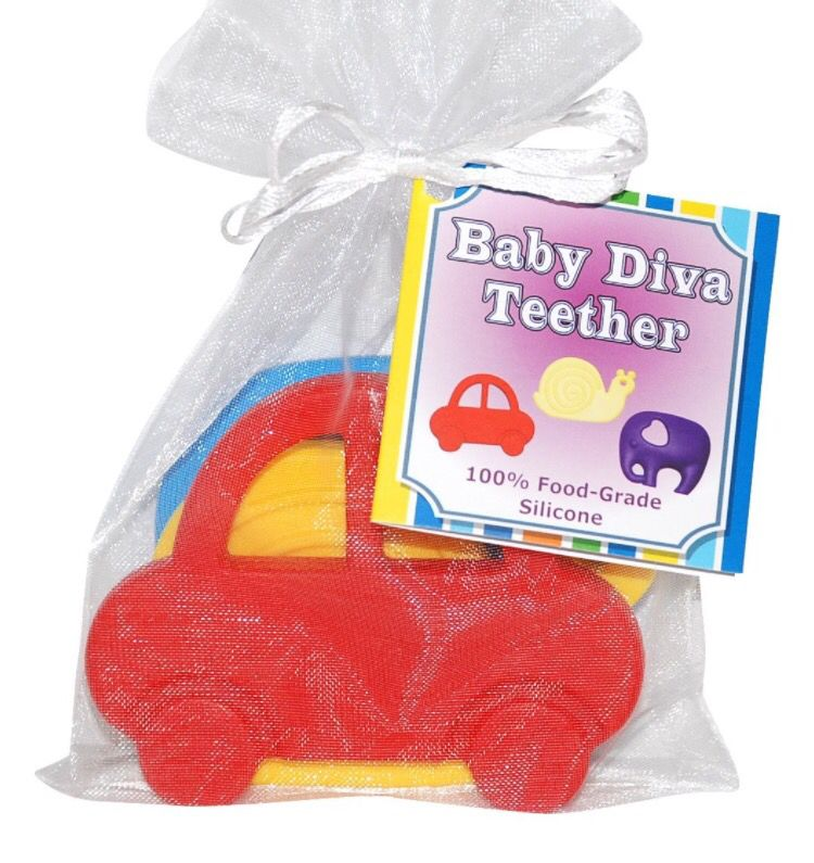 Baby Diva Teether 100 SAFE for your baby! ️ Only on