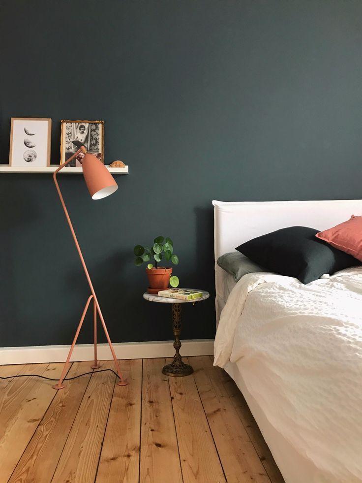 Altes Und Neues Auf 65qm Sovevaerelseinspiration In 2020 Mit Bildern Altrosa Schlafzimmer Schlafzimmer Wand Zimmer