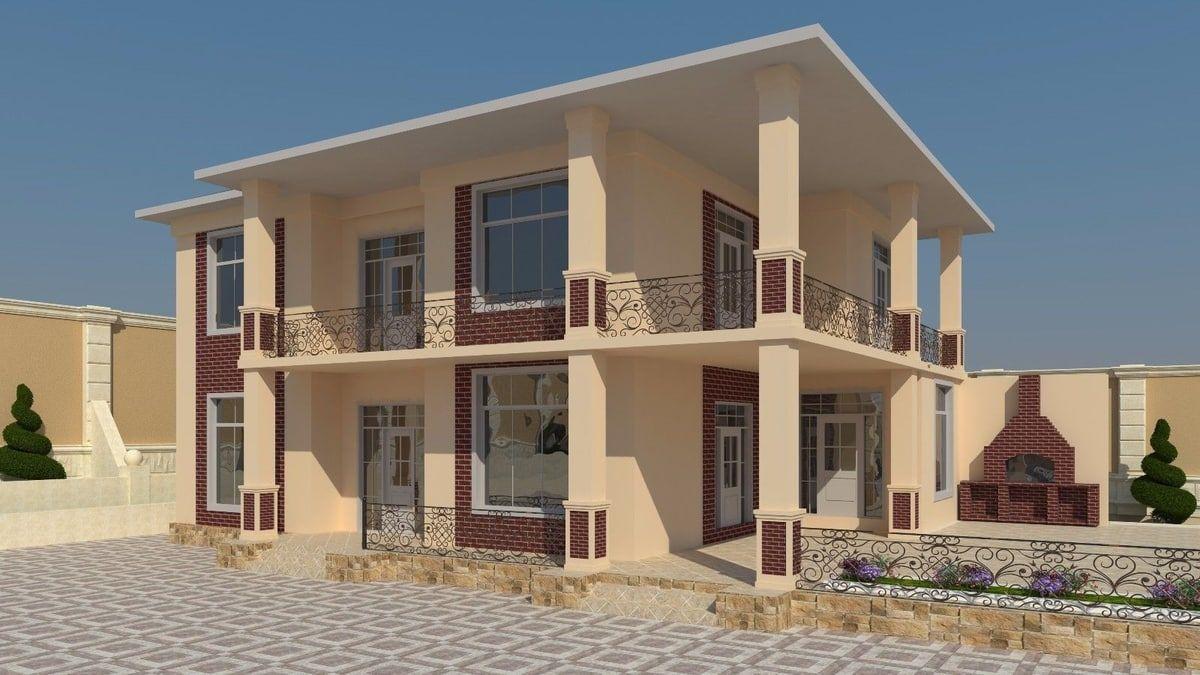 Home Plans Autocad 3D Model 3D