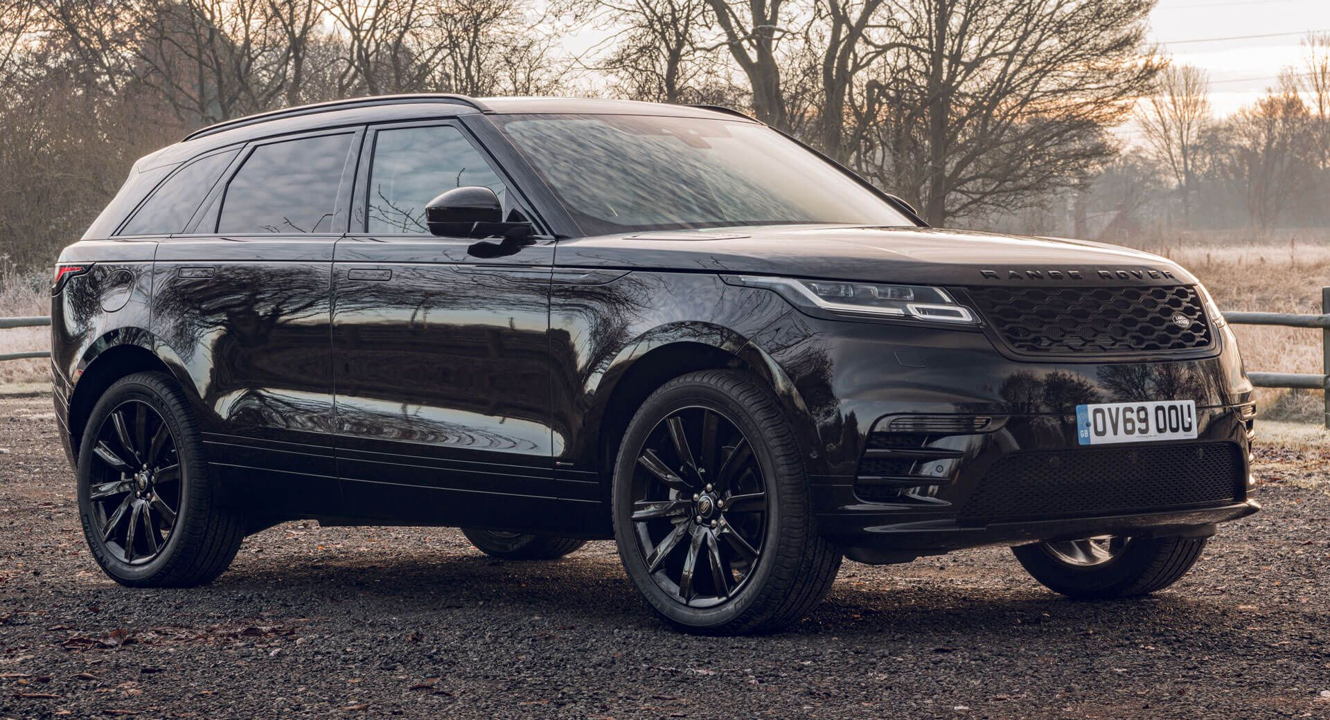 Range Rover Velar RDynamic Black Edition Is A UKOnly