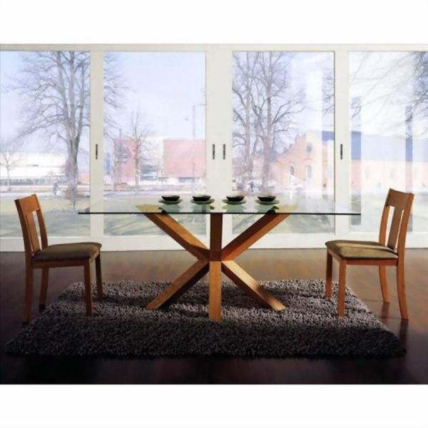 dining table furniture glass top home tables amp chairs room round rh pinterest com