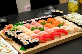 Sushi japonesa