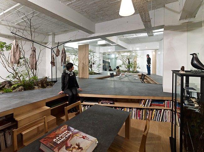 Sisii Open Space Showroom by Yuko Nagayama & Associates