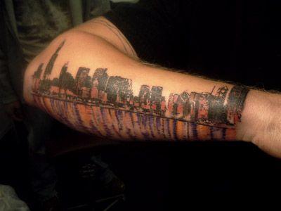 Thatsanissue Skyline Tattoo Chicago Skyline Tattoo Chicago Tattoo