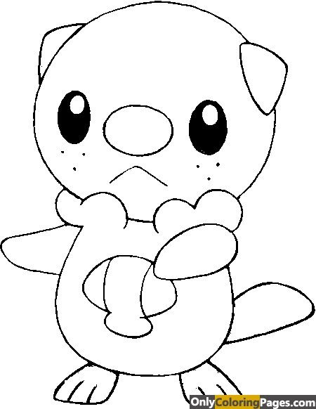 Oshawott Coloring Pages Pokemon Coloring Pages Pokemon Coloring Sheets Pokemon Coloring