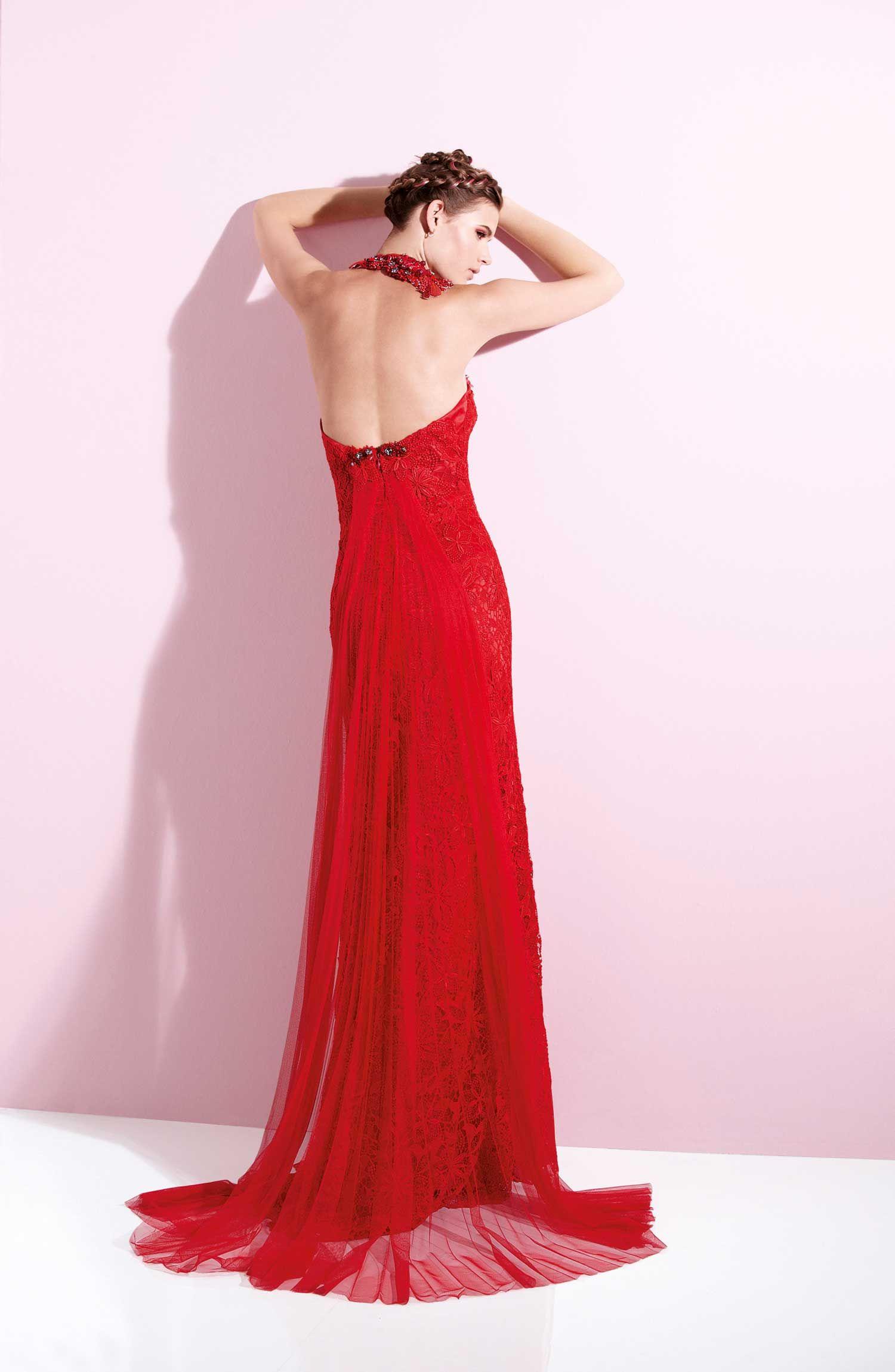 Hermosa Rubí Rojo Vestidos De Fiesta Imágenes - Ideas de Vestidos de ...