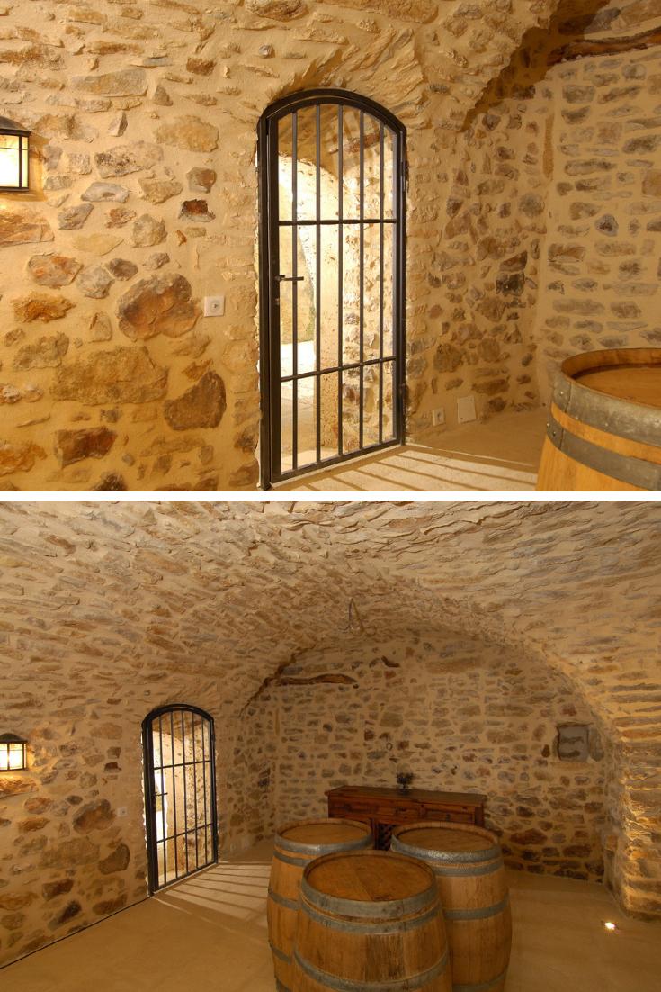 Renovation D Un Sous Sol Voute Pour Creer Une Cave A Vins