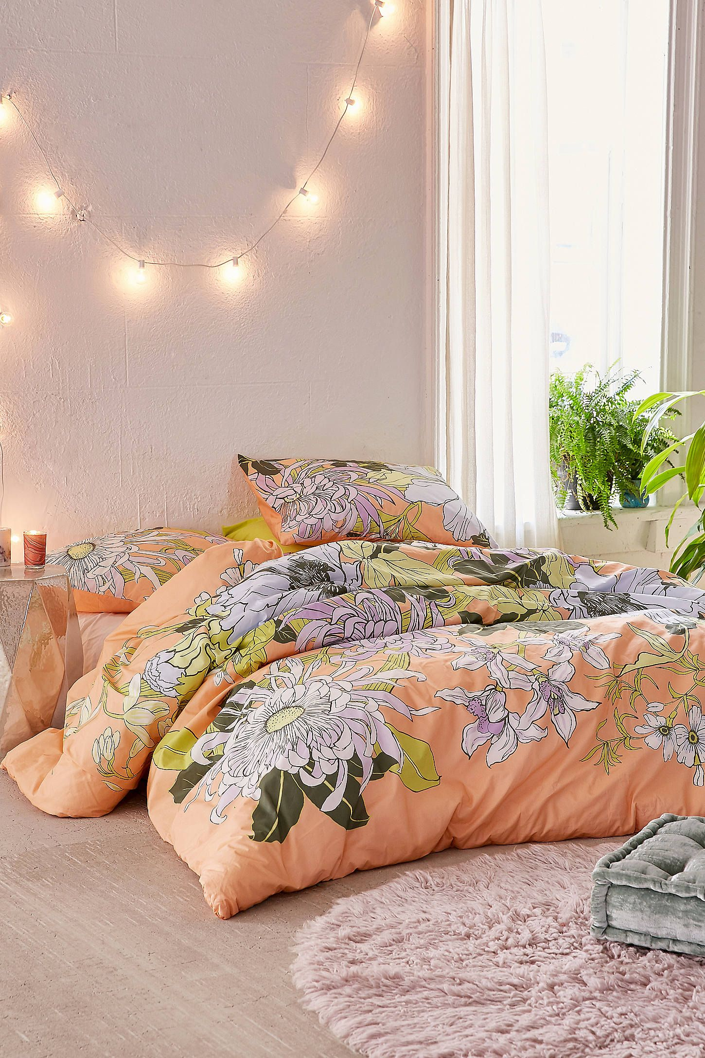 Botanical Scarf Comforter Snooze Set Botanical Scarf