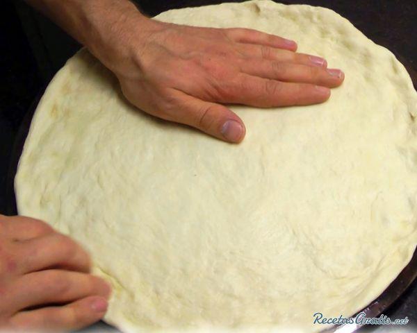Cómo Hacer Pizza Casera Receta De Masa Fácil Receta Pizza Casera Pizzas Caseras Receta Hacer Pizza Casera