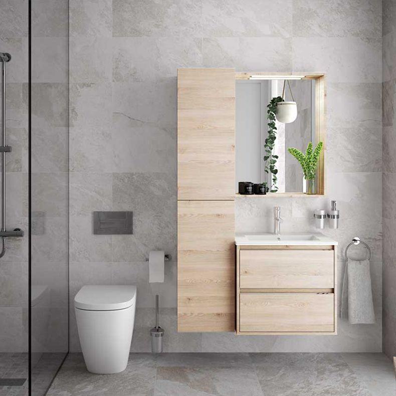 18 Muebles para bano de madera