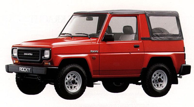 Daihatsu Rocky Softtop Dengan Gambar Daihatsu Mobil