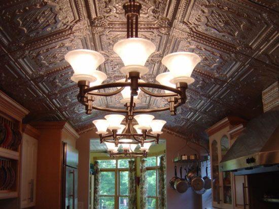 Tin Ceiling Tile Classic Elizabethan Shield Decorative Metal Ceiling Tile Decorative Ceiling Tile Ceiling Tiles