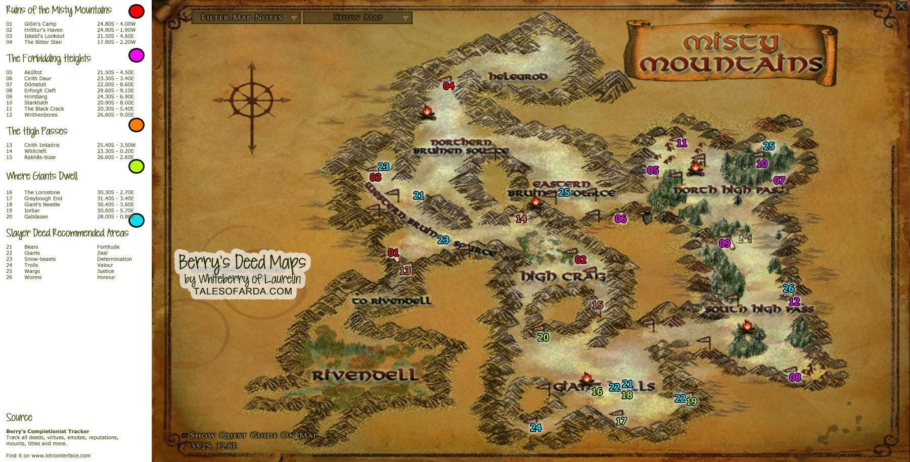 Map For Lord Of The Rings%0A Picture