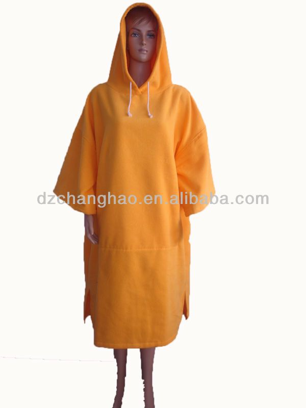 Full Length Hooded Towel In Yellow With Images Hooded Towel