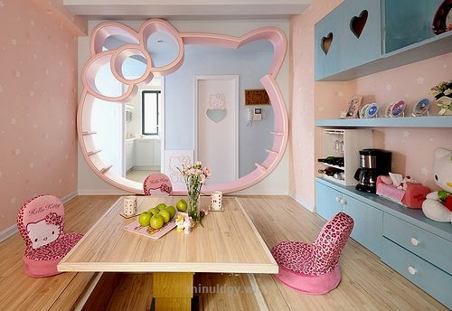 hello kitty house home decoration 05 hello kitty house home rh pinterest at