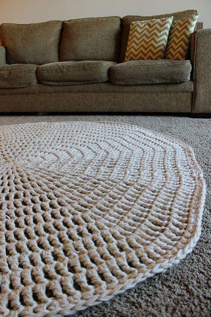 Thick & Quick Crochet Area Rug – Chaleur Life