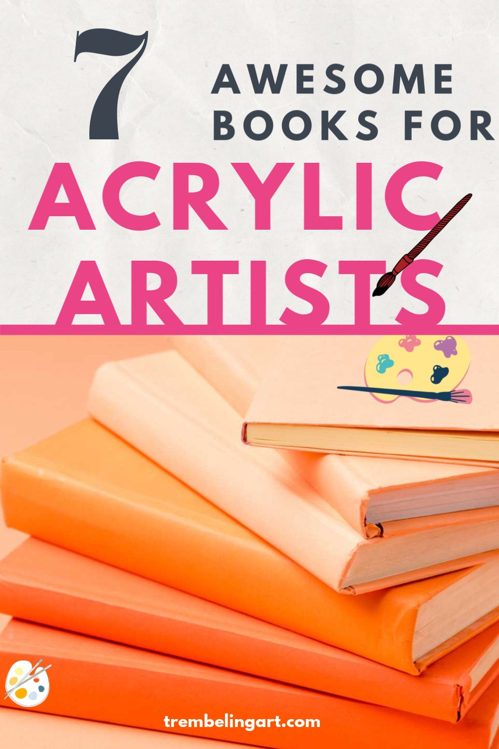 7 informative acrylic painting books for beginners in 2020