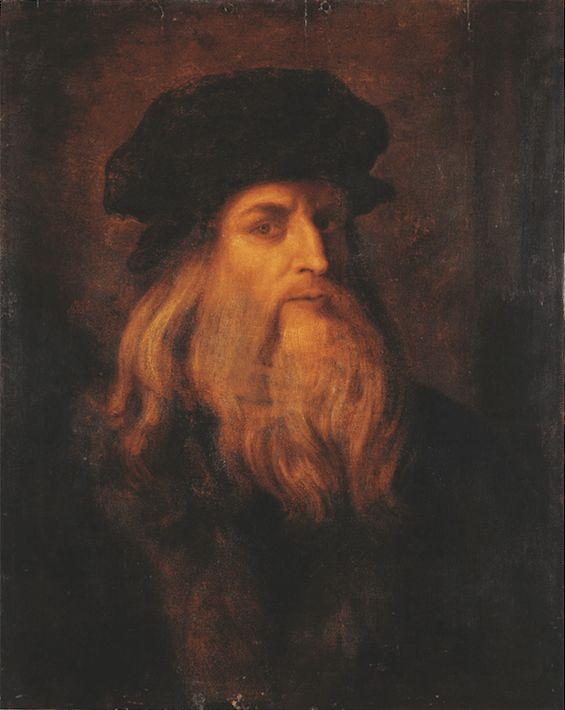 Leonardo Da Vinci Made Of Italian Food Leonardo Da Vinci Leonardo Artist