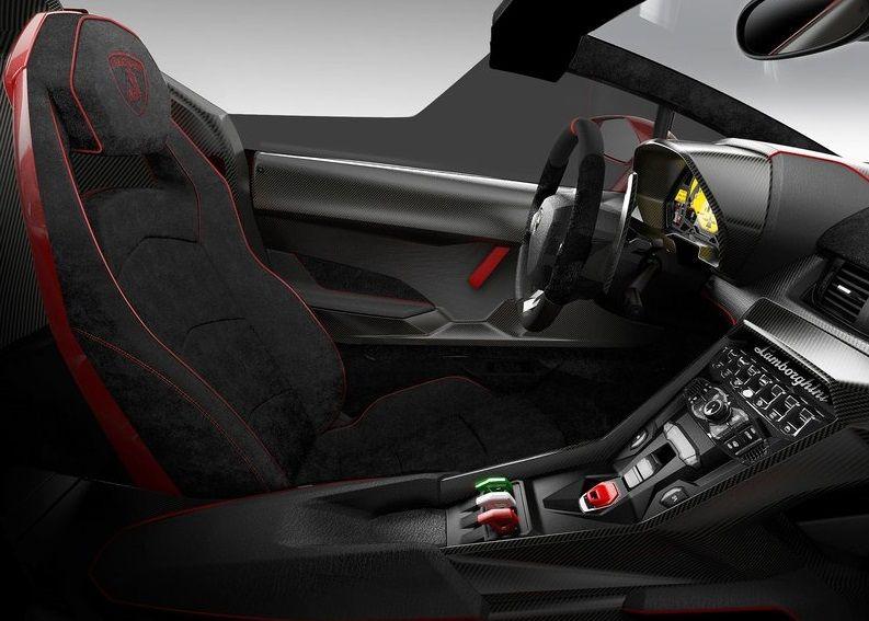 Lamborghini Veneno Roadster Design Interior Lamborghini
