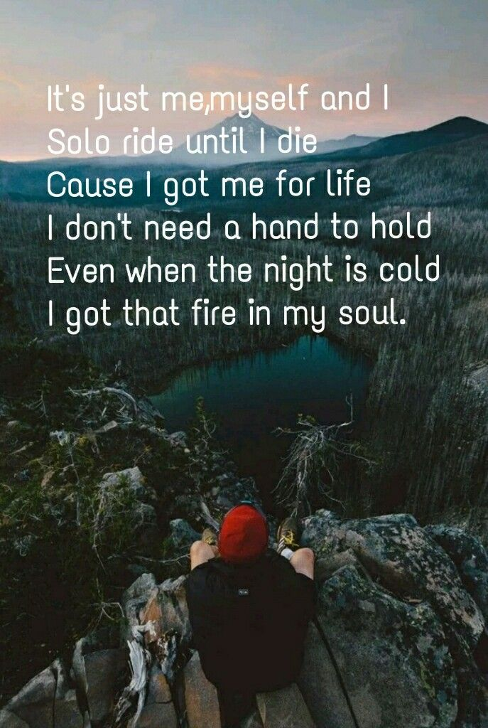 Alone Me Myself I Lyrics G Eazy With Images Me Too Lyrics