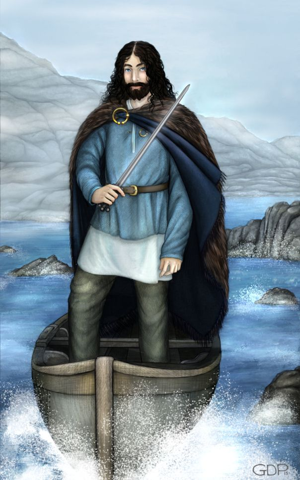 Manannan. Much more accurate than them usual grey-bearded half-naked old men