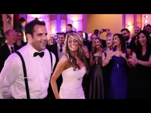 Newlyweds Bride Brie Very Reserved Groom Evan S A Mazin Surprise First Wedding Dance Funny Videoswedding