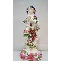 Artesanato Sagrado Coração De Maria Decoupage - Maria Moura