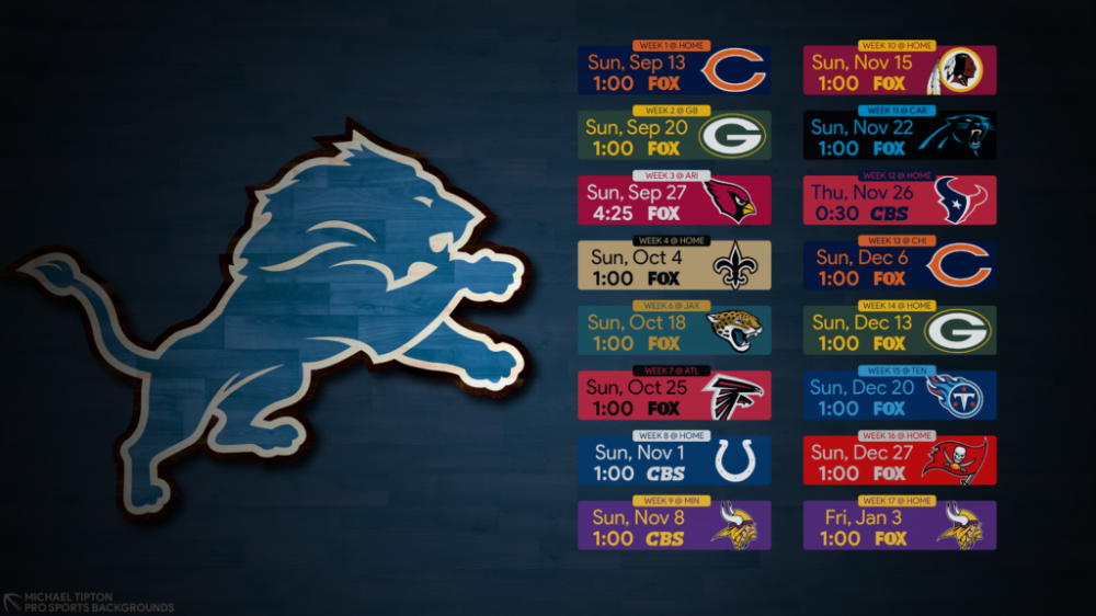 2020 Detroit Lions Wallpapers Pro Sports Backgrounds in