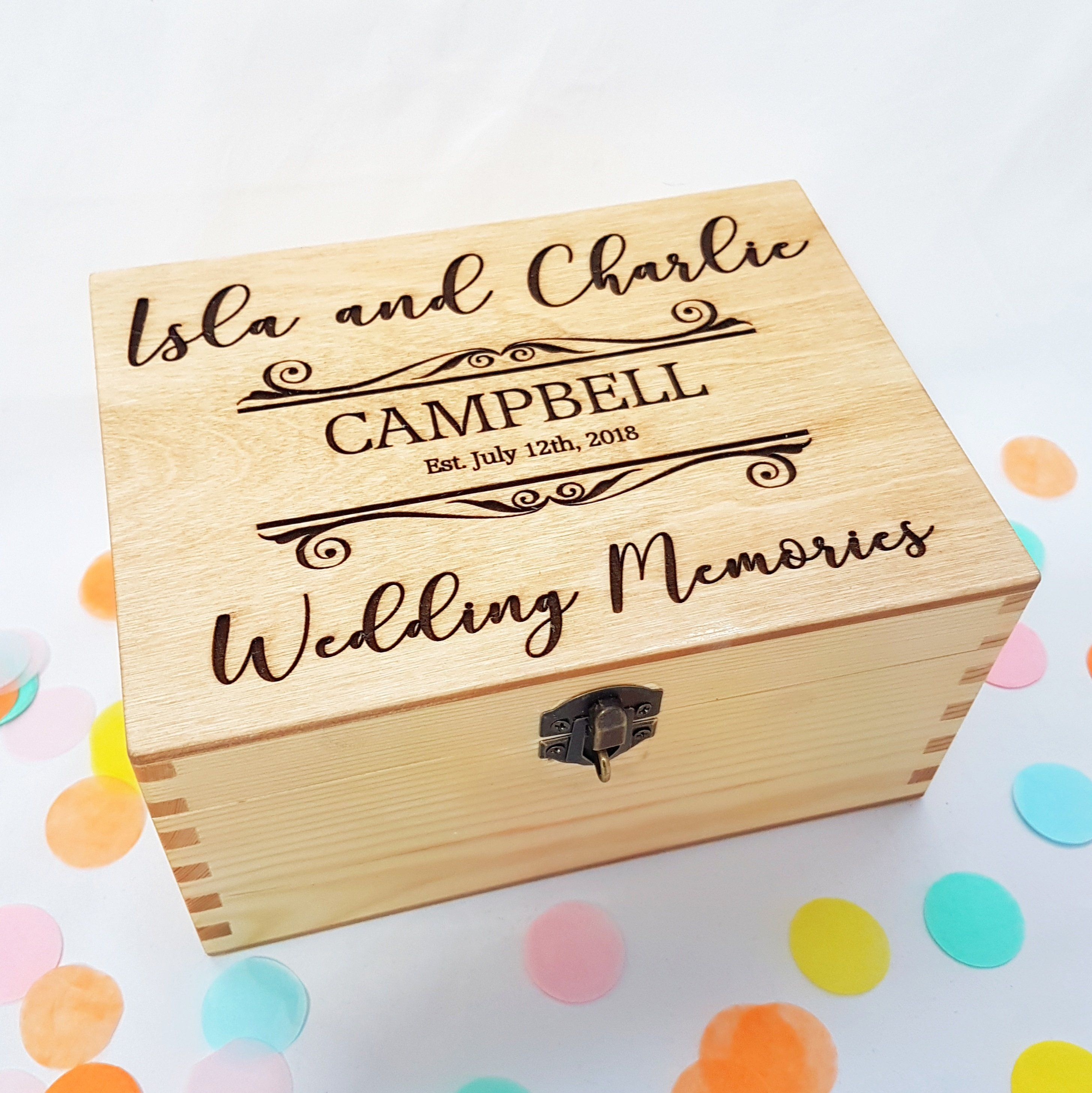 Are You Looking For A Wedding Memory Box That Will Be The Perfect Keepsake For Your Wedding Photos Wedding Memory Box Card Box Wedding Wedding Keepsake Boxes