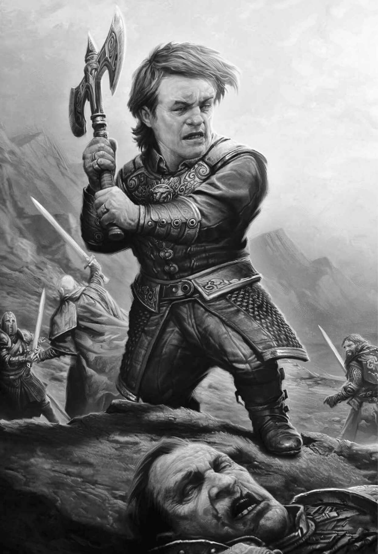 61 R6p6jws Asoiaf Art A Song Of Ice And Fire Tyrion Lannister Book