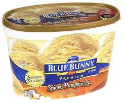 Blue Bunny Spiced Pumpkin Pie Ice Cream