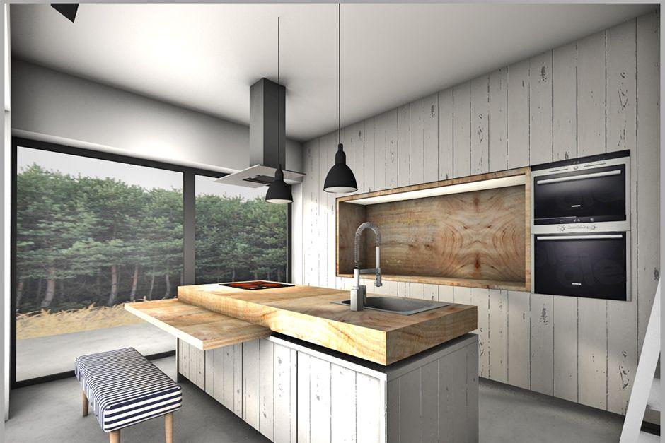 Mode Lina Architekci Architekt Projekty Wnetrz Poznan Fence House House Home Decor Kitchen