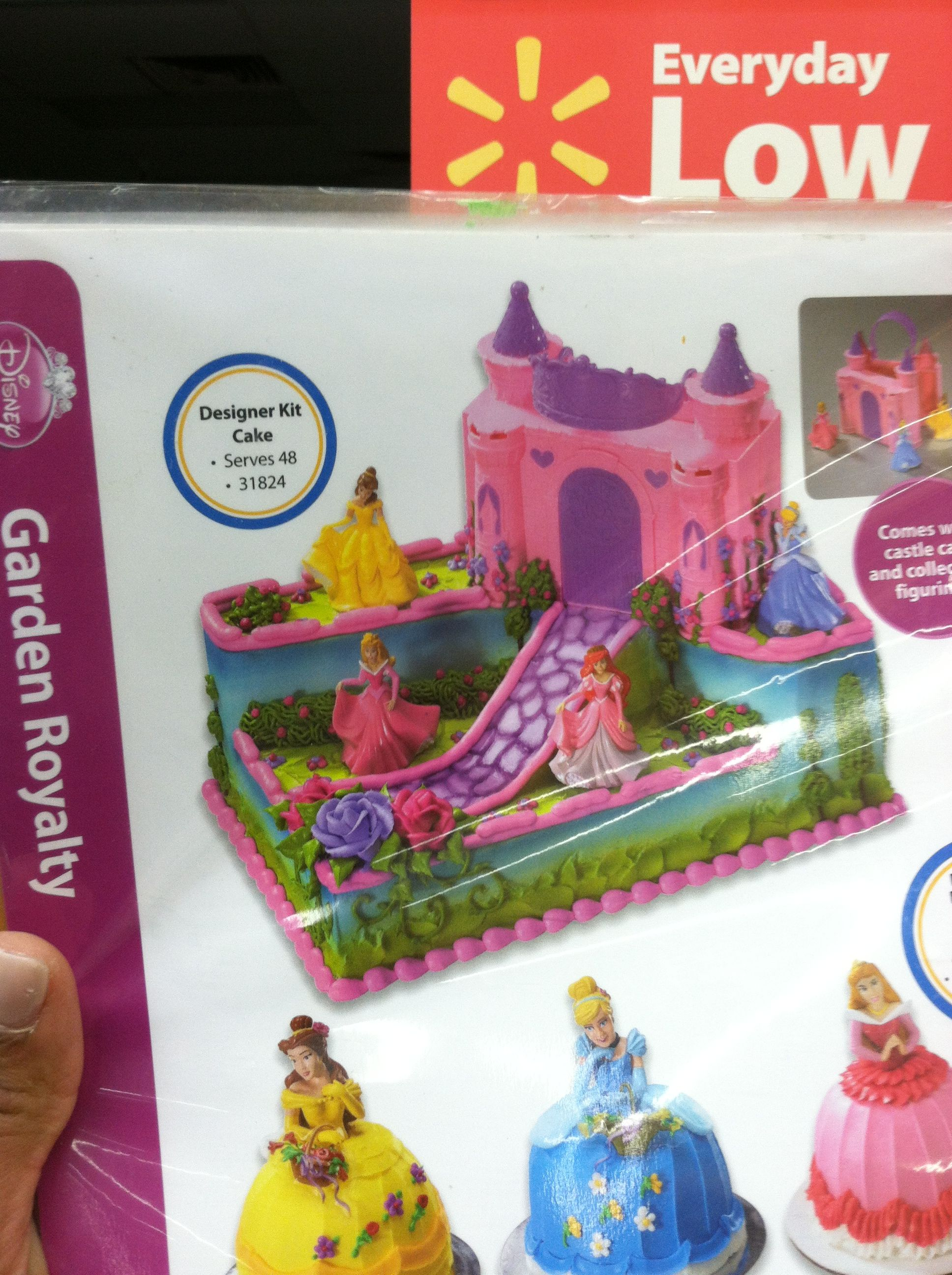 Princess Cake 38 At Walmart