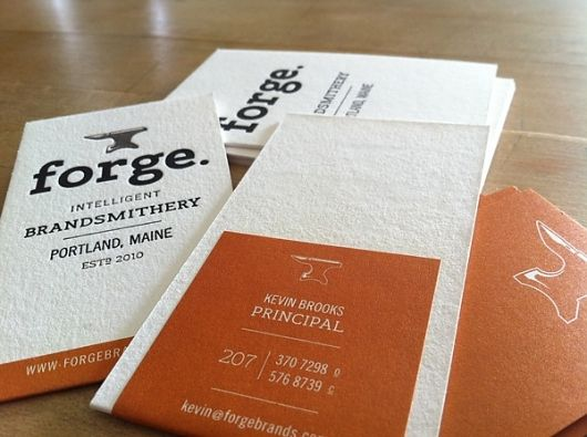 44 Top Examples Of Letterpress Business Cards Print Design Creative Bloq